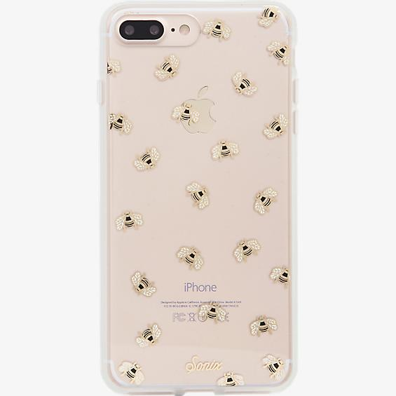 Estuche ClearCoat para iPhone 7 Plus - Color Honey Bee/Dorado