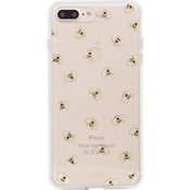 Estuche ClearCoat para iPhone 7/6s/6 Plus - Color Honey Bee/Dorado