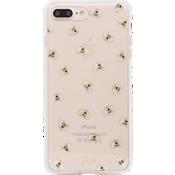 Estuche ClearCoat para iPhone 7 Plus - Color Honey Bee/Dorado