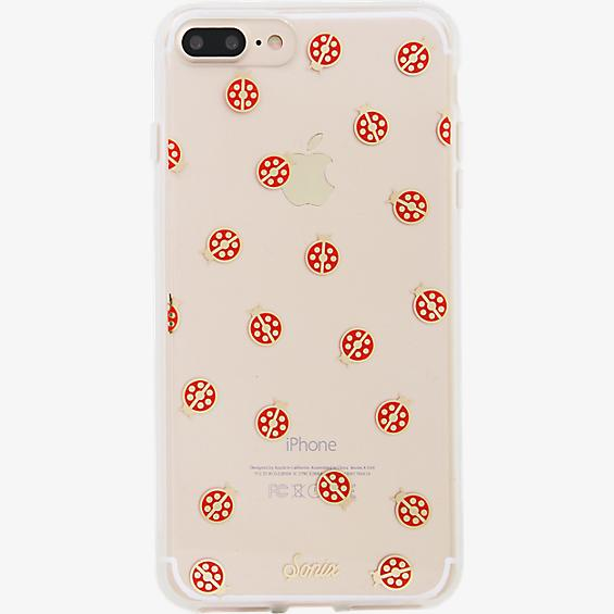 Estuche ClearCoat para iPhone 7 Plus - Color Lady Bug/Rojo