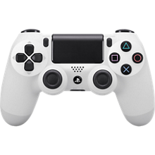 Controlador inalámbrico Sony DualShock 4 - Blanco