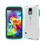 Speck CandyShell para Galaxy S 5 - Blanco con verde azulado