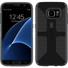 CandyShell Grip para Samsung Galaxy S7 - Negro/Color Slate Grey