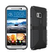 Speck CandyShell Grip para el HTC One M9 - Negro/Gris pizarra