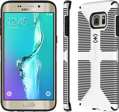 Speck CandyShell Grip para el Samsung Galaxy S 6 edge+ - Blanco/Negro
