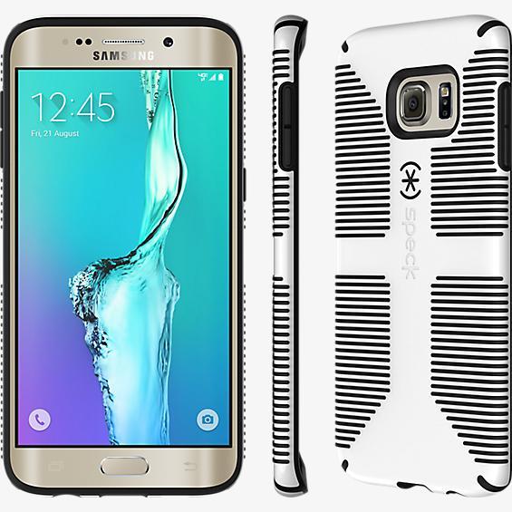 CandyShell Grip para Samsung Galaxy S 6 edge+ - Blanco/Negro