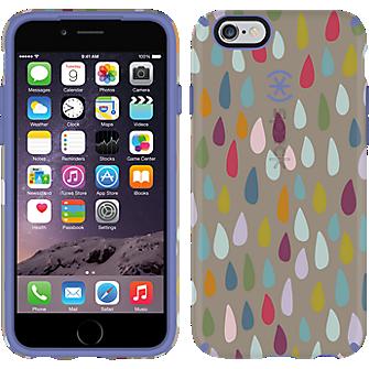 CandyShell INKED para iPhone 6/6s - Gota arco iris