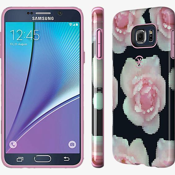 CandyShell INKED para Samsung Galaxy Note 5 - Rosa pixelada/Rosa pálido