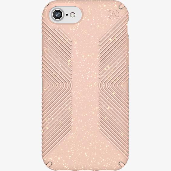 Carcasa Grip Pink Glitter para iPhone 8/7/6s/6