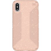 Presidio Grip Pink Glitter para iPhone X - Rosa