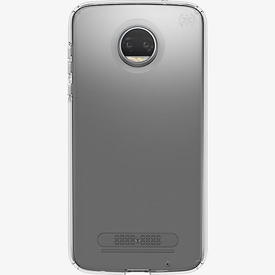 Estuche transparente Presidio para moto z<sup>2</sup> force edition