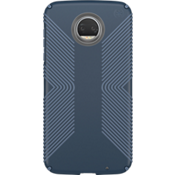 Estuche Presidio Grip para Moto Z2 Force Edition - Color Marine Blue/Twilight Blue