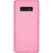 Presidio Clear Grip + Glitter para Galaxy Note8 - Bella Pink