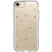 Estuche Presidio Clear Print para iPhone 7/6s/6 - Disco Dots