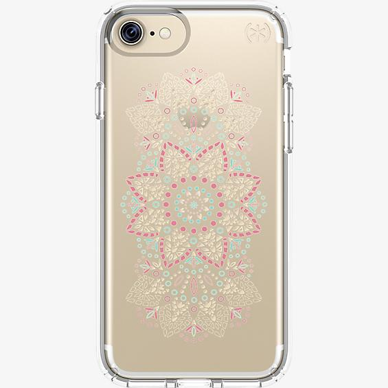 Estuche Presidio Clear Print para iPhone 7/6s/6 - Lace Mandala