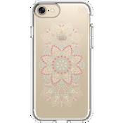 Estuche Presidio Clear Print para iPhone 7/6s/6 - Lace Mandala