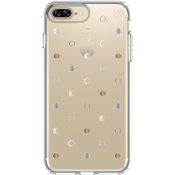 Estuche Presidio Clear Print para iPhone 7 Plus/6s Plus/6 Plus - Disco Dots