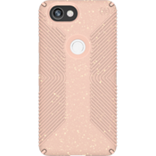 Estuche Presidio Grip + Glitter para Pixel 2 XL - Color Bella Pink With Gold Glitter/Dahlia Peach