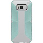Estuche Presidio Grip para Galaxy S8 - Color Dolphin Grey/Aloe Green