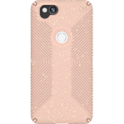 Estuche Presidio Grip + Glitter para Pixel 2 - Color Bella Pink With Gold Glitter/Dahlia Peach