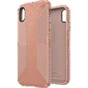 Carcasa Presidio Grip + Glitter para el iPhone XS Max