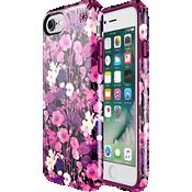 Estuche Presidio Inked Flower Etch para iPhone 7 - Color Pink Metallic/Color Magenta Pink