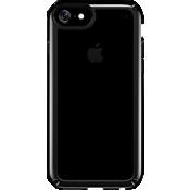 Estuche Presidio SHOW para iPhone 7/6s/6 - Transparente/Negro