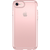 Estuche Presidio SHOW para iPhone 7/6s/6 - Transparente/Color Rose Gold