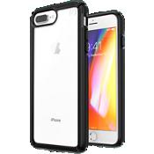 Carcasa Presidio V-Grip para el iPhone 8 Plus/7 Plus/6s Plus - Transparente/negro