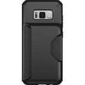 Estuche Presidio Wallet para Galaxy S8 - Negro