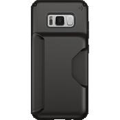 Estuche Presidio Wallet para Galaxy S8+ - Negro