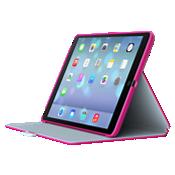 Speck StyleFolio para iPad mini 3 - Rosa fucsia/Gris níquel