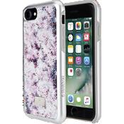 Carcasa para smartphone Crystal Flower con protector para iPhone 8/7/6 - Multicolor