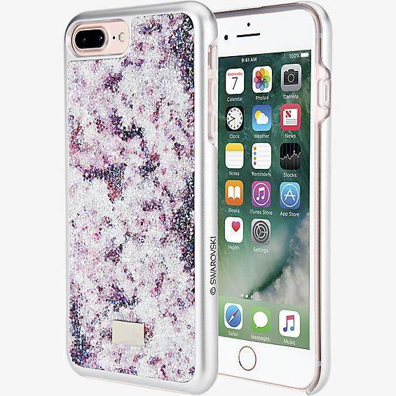 Estuche Crystal Flower para iPhone 7 Plus - Multicolor