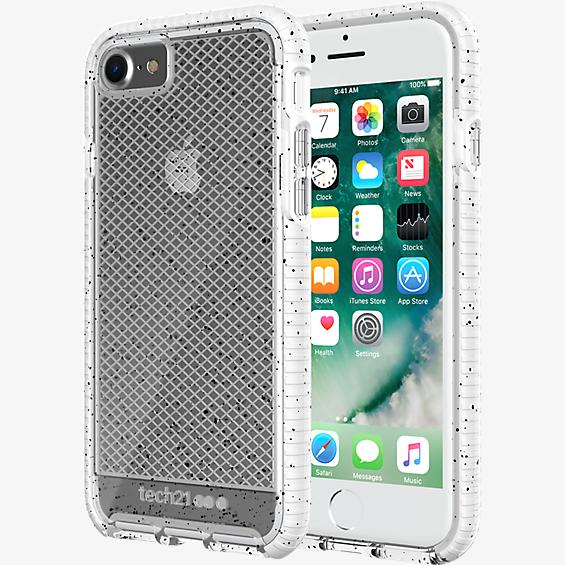 Estuche Evo Check Active Edition para iPhone 7 - Transparente/Blanco
