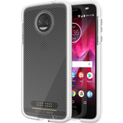 Estuche Evo Check para moto z2 force edition - Transparente/Blanco