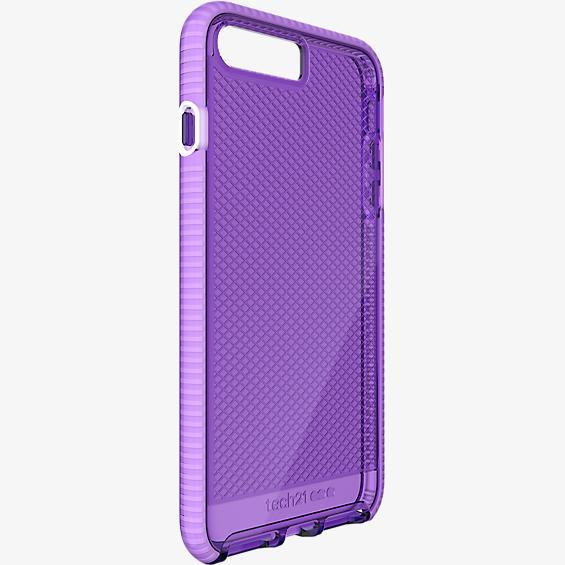 Estuche Tech21 Evo Check para iPhone 7 Plus - HopeLine - Púrpura