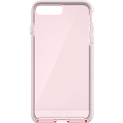 Carcasa Evo Check para iPhone 8 Plus/7 Plus - Rosa claro/Blanco