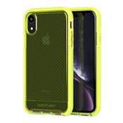 Evo Check para iPhone XR - Color Neon Yellow