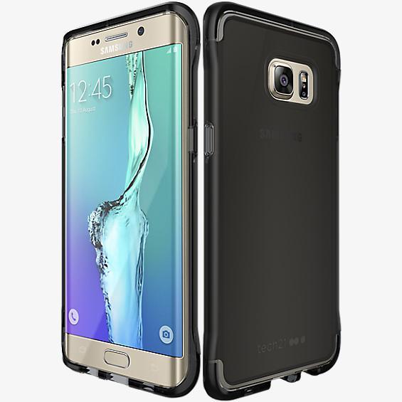 Evo Frame para Samsung Galaxy S 6 edge+ - Esfumado/negro