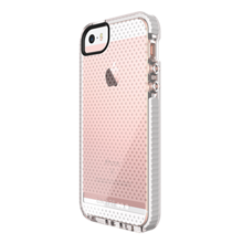 Evo Mesh para iPhone SE - Transparente/Blanco