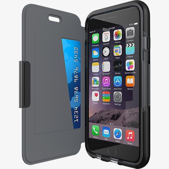 Tech21 Evo Wallet para iPhone 6/6s - Negro