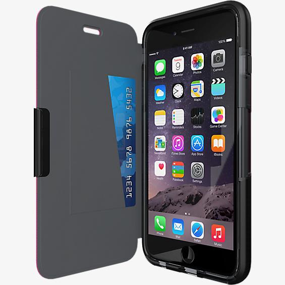 Estuche Tech21 Evo Wallet para iPhone 6 Plus/6s Plus - Negro