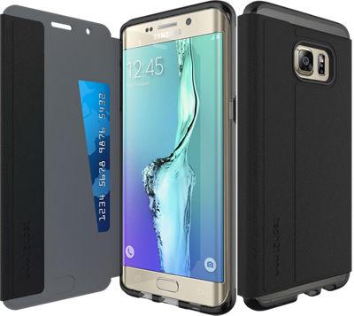 Estuche Tech21 Evo Wallet para Samsung Galaxy S 6 edge+ - Negro