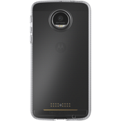 Estuche Impact Clear para Moto Z Force Droid - Transparente