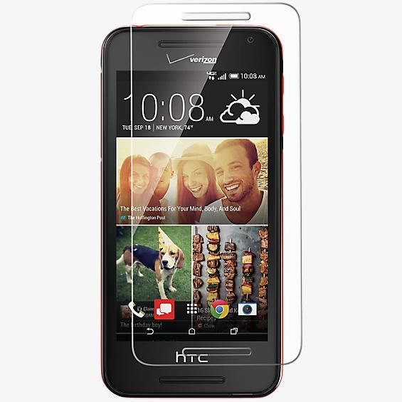 Protector de pantalla de vidrio templado para el HTC Desire 612