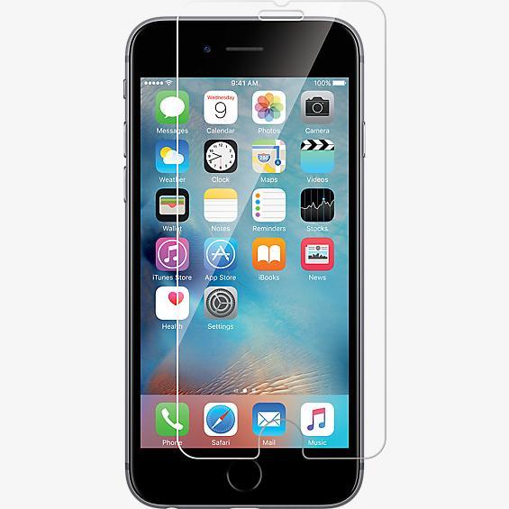 Protector de pantalla con vidrio templado para iPhone 7