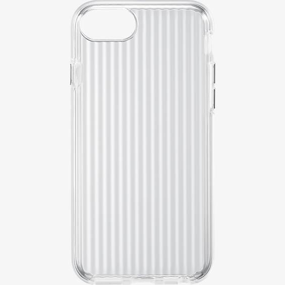 Estuche transparente con textura para iPhone 7