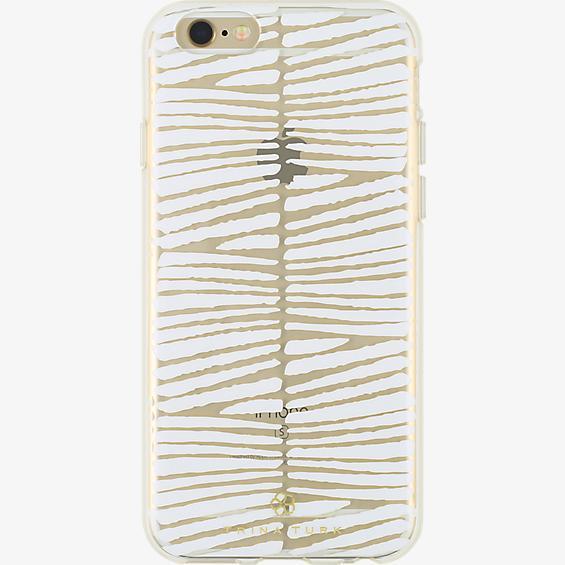 Estuche traslúcido (1 pza.) Trina Turk para iPhone 6/6s - Descanso White/Transparente