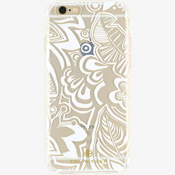 Estuche traslúcido (1 pza.) Trina Turk para iPhone 6/6s - Color Floral/Transparente